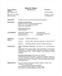 diploma mechanical engineering resume samples mechanical