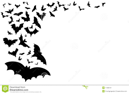 Cute Halloween Bats Wallpaper