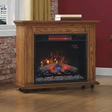 Electric Fireplace With Mantel Duraflame Rolling Mantel Electric Fireplace U0026 Reviews Wayfair