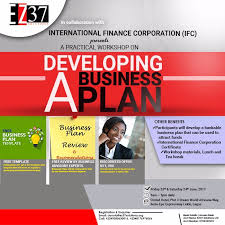 take a business plan course with the international finance