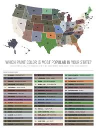 what is the most popular color for a kitchen cabinet most popular paint color by state midwest home