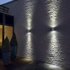 Recessed Outdoor Wall Lights Up External Light For Front Of House Architecture