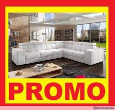livraison canapé canapé blanc livraison possible a vendre 2ememain be