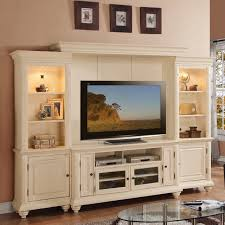 Furniture For Tv Set Addison Palladian White Home Entertainment Center Living Room