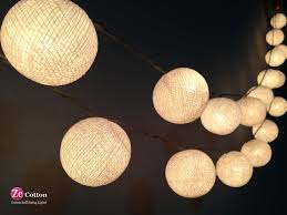 Patio String Lighting by Home Decoration Excellent Ball Shaped Led Patio String Lights And