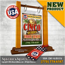 Table Tent Holders by Table Tent Card Holders By Maverick Menus Table Tents
