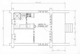 floor log cabins floor plans