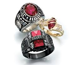 high school class jewelry class rings class ring and ring