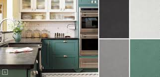 modern painted kitchen cabinets ideas with gray color with gray