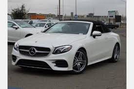 mercedes e class convertible for sale 2018 mercedes e class convertible pricing for sale edmunds