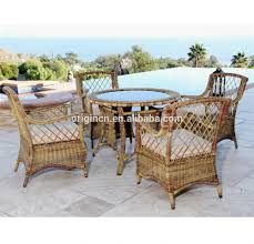 Restaurant Patio Tables by Rattan Glass Top Tables And Chairs Rattan Glass Top Tables And