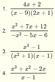 simplify rational expressions
