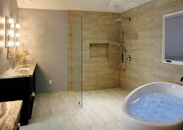 Open Shower Bathroom Bathroom Bathroom Remodel With Open Shower Designs Showers Small