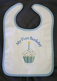 1st birthday bib boys cupcake 1st birthday bib