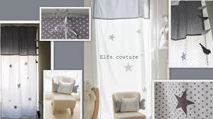 rideau pour chambre enfant rideau gris chambre fille idées de décoration capreol us