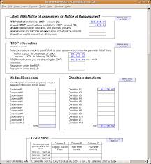 Income Tax Spreadsheet Income Tux 2007 U2014 An Income Tax Spreadsheet In Odf