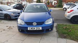 volkswagen tdi 2004 used 2004 volkswagen golf mk5 mk6 gt tdi for sale in middlesex