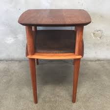Teak Side Table Vintage Mid Century Modern Teak Side Table By Peter Hvidt