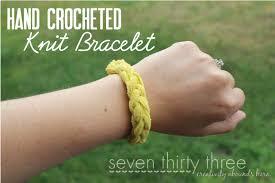 bracelet craft hand images Hand crocheted bracelet headband inspiration made simple png