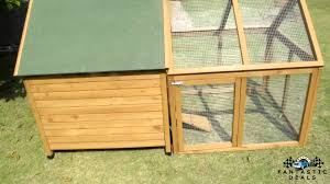 Rabbit Hutches And Runs Beaumont Single And Run Large Deluxe Chicken Coop Hen House Rabbit