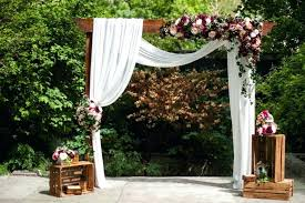wedding arches houston decorated wedding arbors wedding ceremony altar decor with flowers