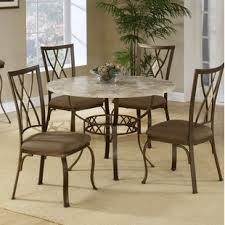 round stone top dining table wayfair