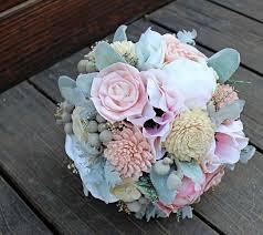 sola flowers keepsake bridal bouquet silk flowers peony anemone sola