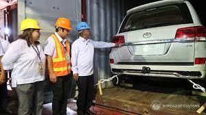 bureau cars p107m worth of luxury cars seized at manila port edge davao