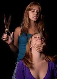 punishment haircuts for females the power in cutting hair sexy girls haircutting pinterest