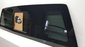 tinted sliding glass doors 2015 2017 ford f 150 rear back power sliding heated window glass