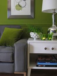 green gray living retro mid century modern green grey living room or reading