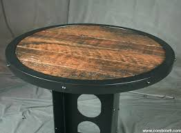Reclaimed Wood Bistro Table Wood Bistro Table Bemine Co