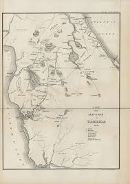 Florida Map Image by Copy Of A Map Of The Seat Of War In Florida 1836 Digital Library