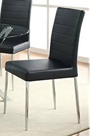 212 Modern Furniture by Amazon Com Furniture Of America Nolan Modern Leatherette Dining