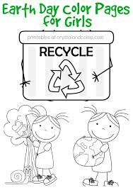 free earth coloring pages girls printables free