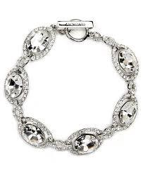 bridal bracelet images Givenchy bracelet silver tone swarovski element bridal bracelet tif