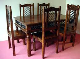 indian wood dining table indian dining furniture happysmart me