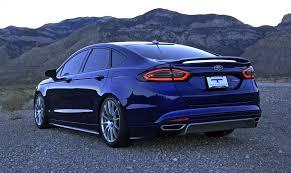 2013 ford fusion spoiler 2013 talladega fusion concept