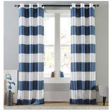 Navy Blue And White Striped Curtains Best 25 Blue Striped Curtains Ideas On Pinterest French Country