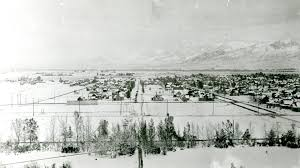 Montana State University Campus Map by View Of Bozeman Montana In The Winter Msu Historic Photo