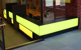 Led Reception Desk Elumanation Projects