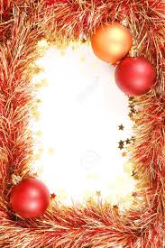 christmas template with white space surrounded by christmas