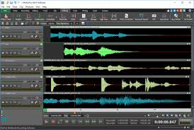 mixpad multi track audio mixing software screenshots