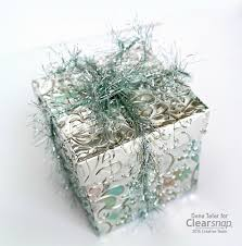 metallic gift box surfacez metallic gift box for winter clearsnap