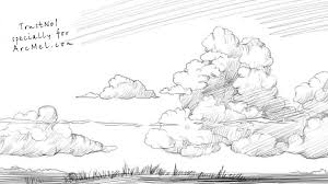 how to draw the sky step by step arcmel com