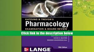 free download katzung trevor s pharmacology examination and