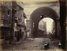 Victorian Time by The Cowgate Arch Of George Iv Bridge Edinburgh Edinburgh