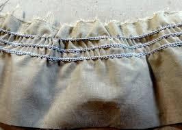 shirring elastic tutorial elastic thread shirring using a serger chain stitch sewing