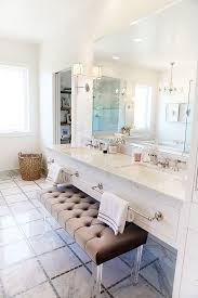 Vanity With Storage Bathrooms Beautiful White Built In Bench With Storage Between