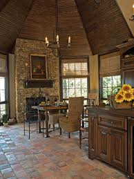 kitchen tile floor ideas with white cabinets shine modern iron